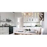 Белая кухня всегда красива