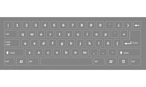 Bolivian Keyboard Layout