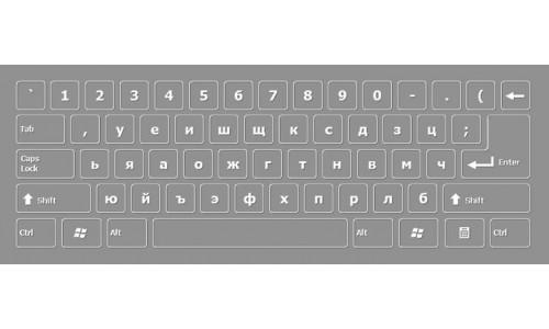 Bulgarian Keyboard Layout