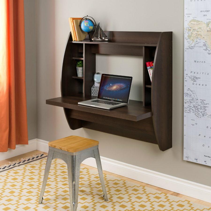 Компьютерный стол с полкой своими руками