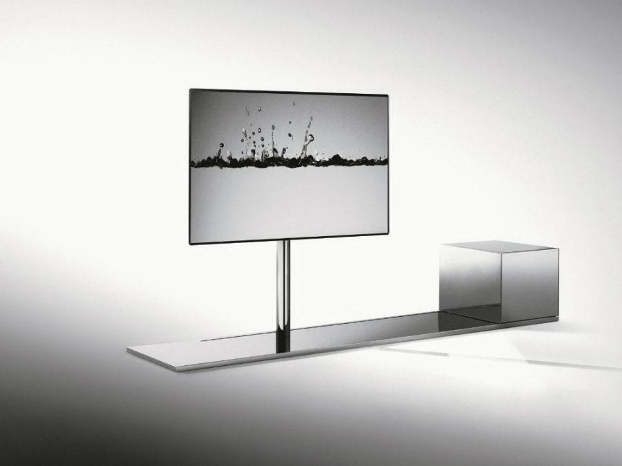 Парусный поворотный шкаф для металлического телевизора