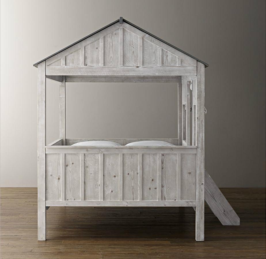 кабина кровать ребенок размер крытое жилье по реставрации аппаратных 2 Детей Каюты кровати Restoration Hardware