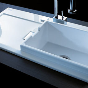 Duravit Starck K Kitchen Sink - новая раковина от Филиппа Старка