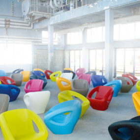 Modern Polyethylene Chairs by Lonc – high style and versatile