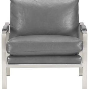 Стул Lounge Mid-Century - стул Milo Classic Leather Lounge от Crate & Barrel