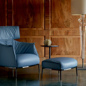 Archibald King armchair from Poltrona Frau