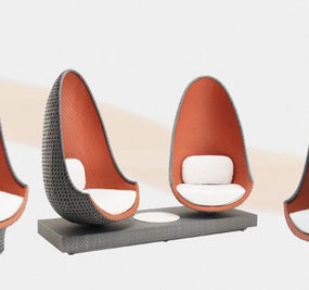 Uber Cool Lounge Chair Филипп Старк - Игра от Дедона