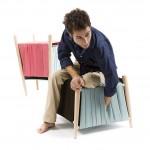 Пуфик от дизайнера мебели