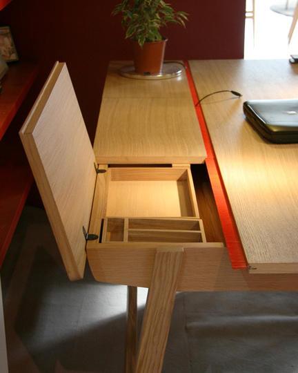 Как сделать стол с ящиками 51