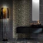 Мозаичная плитка в дизайне ванной комнаты