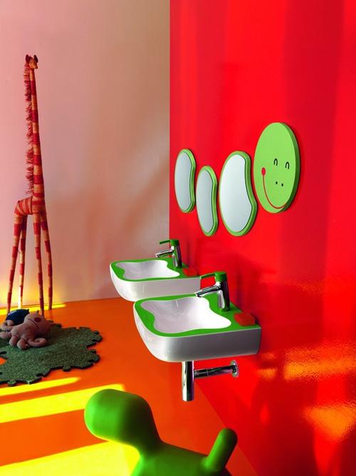 Сантехника для детской ванной комнаты