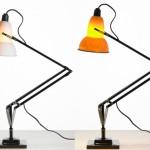 Настольные рабочие лампы с тонированным плафоном