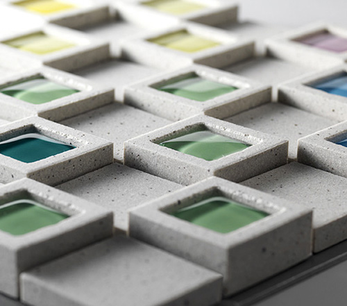 Плитка для мозаики наружных стен