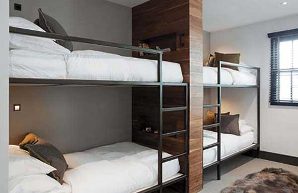 4 спальных места в два яруса