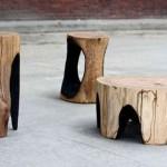 Набор самодельной дачной мебели