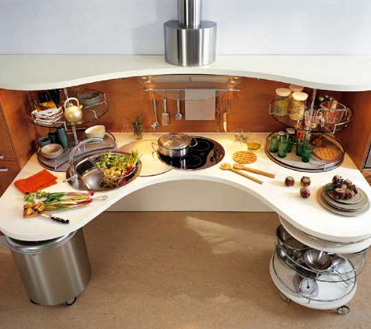 Интересные решения дизайна кухонь