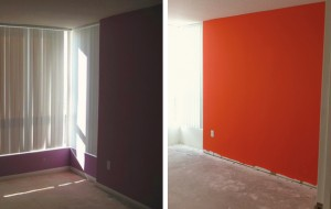 Подготовка стены и выбор цвета для последующего нанесения виниловой наклейки
