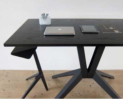 Современный высокий рабочий стол