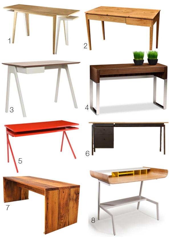 Разные модели рабочих столов