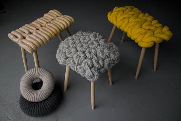 Вязанная мебель
